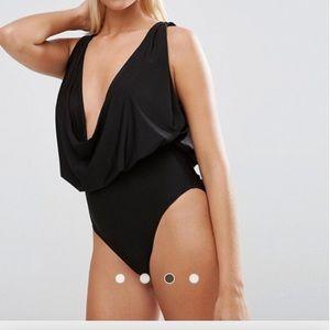Cowl neck swimsuit! NWOT